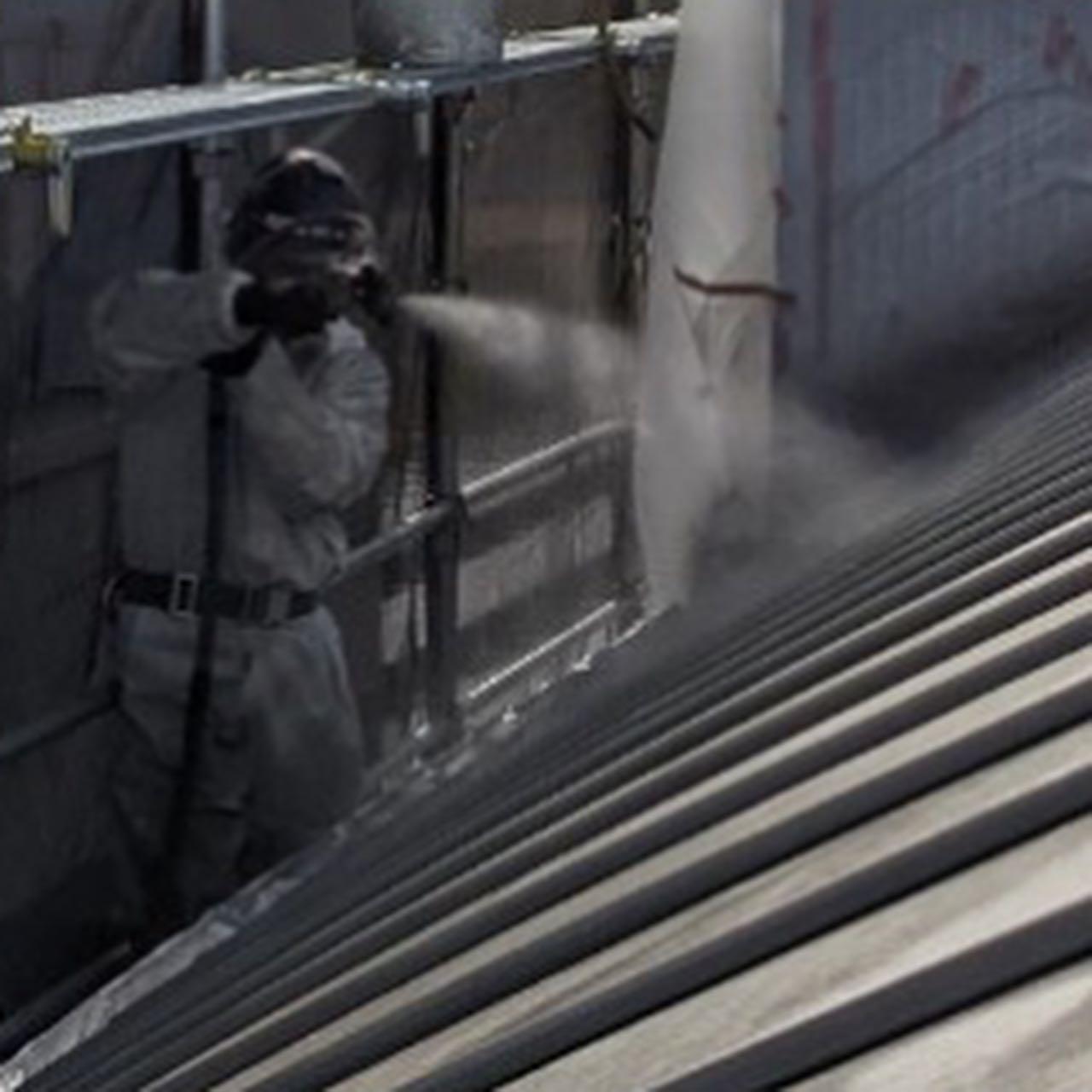 金属屋根防水工事が完了しています。#超速硬化ウレタン吹付 #超速硬化ウレタンスプレー#金属屋根防水工事#防水屋#吹付屋#株式会社ビルドテック